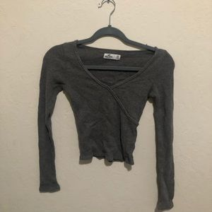Hollister Waffle Knit Top